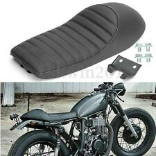 Black Vintage Hump Cafe Racer Seat For Honda Yamaha For Suzuki Kawasaki Custom