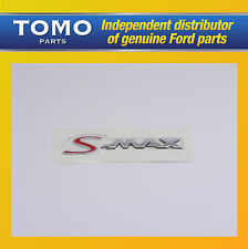 New Genuine Rear Ford 'S-Max' Badge/Decal S-Max/Galaxy  2006/- 1677252