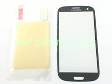 New Front Outer Glass Replacement  for Samsung Galaxy S3 i9300+SP  (Blue) -US-FL