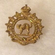 Ontario Regiment Royal Canadian Armoured Corps Cap Badge