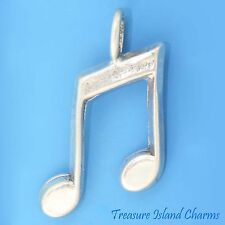 MUSIC NOTES .925 Sterling Silver Charm PENDANT NEW
