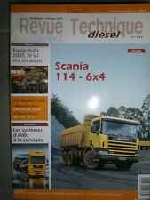SCANIA 114 340 - 380 ch : revue technique RTD 255