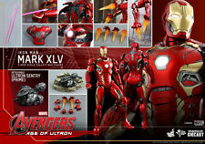 HOT TOYS 1/6 MARVEL AVENGERS MMS300D11 IRON MAN MK45 MARK XLV ACTION FIGURE