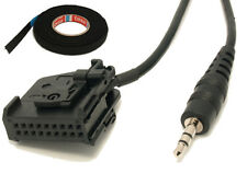 VW AUX Line In Adapter Kabel MFD2 RNS2 iPhone iPad Mp3 GOLF5 GOLF PLUS PASSAT