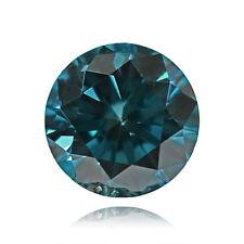 0.01 CT 1 -1.5 MM S1 Greenish Blue Round Brilliant cut Natural Loose Diamond