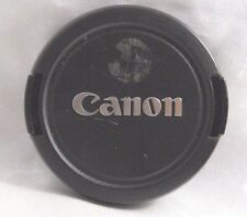 Canon Ultrasonic snap-on E-58mm Front Lens Cap - Taiwan Genuine