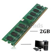 2GB PC RAM Memoria DDR2 PC2 667 Mhz 5300 5300U Intel+AMD Low Density DIMM 240Pin
