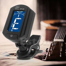 Automatic Mini LCD Clip On Tuner Digital Electronic Tuning For Acoustic Guitar