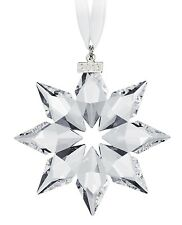 New Swarovski 2013 Annual Christmas Star Snowflake Large Ornament  #5004489