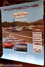 Rareza Porsche 944 Turbo Cup 1989 publicidad cartel 1 reunirá 2 V. deben a 3 bovensiepen