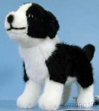 KOSEN Made In GERMANY NEW Standing Border Collie Puppy Plush Toy Dog
