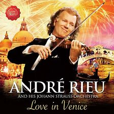 ANDRE RIEU & STRAUSS ORCHESTRA LOVE IN VENICE CD DVD NEW