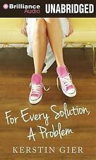 For Every Solution, a Problem by Kerstin Gier (2013, CD, Unabridged)