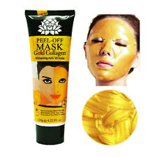 Gold 120ml Collagen Face Mask Powder Anti-Aging Anti-Wrinkle Whitening Face Mask
