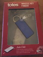 Totes Auto Club Whistle Key Finder Brand-New Sealed In Box