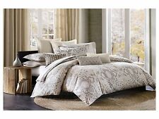ECHO DESIGN ODYSSEY, 1 TWIN DUVET COVER TAUPE PAISLEY