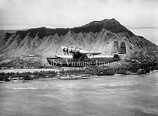 Pan Am Clipper Sikorsky S-42 Airplane Flying Boat  Diamond Head 1935 photo
