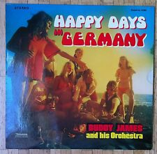 BUDDY JAMES & HIS ORCHESTRA Happy Days In Germany LP/GER