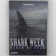 2 DVD Set Shark Week Ocean of Fear