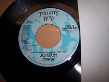 "NM 1984 Jonzun Crew Time Is Running Out 7"" 45RPM w/ppr slv"