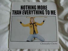 "Vinyl 7"": Christopher Owens : Nothing More Than Everything To Me : SIGNED"