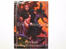 2016 Jusko Marvel Masterpieces Base Card #22 Goblin Queen 353/1999 LOW # NM-MINT