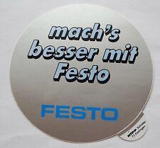 Aufkleber FESTO Werkzeuge Tools Handwerker 80er Jahre Sticker Decal Autocollant