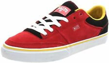 UK SIZE 12 - ETNIES MALTO SKATEBOARDING FASHION CASUAL TRAINERS - RED