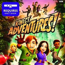 KINECT ADVENTURES! Microsoft XBox 360 Game