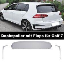 Heckspoiler Dachspoiler für Vw Golf 7 VII Gti GTD Spoiler Flaps Heck #01