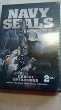 New Dvd Navy Seals Untold Story Covert Ops 2 DVD Vietnam The Canal Zone Columbia