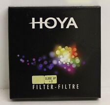 Genuine Hoya 67mm Close Up +3 Filter Brand New for Macro Photography