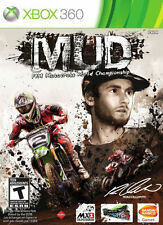 MUD FIM Motocross World Championship Xbox 360 New Xbox 360, Xbox 360