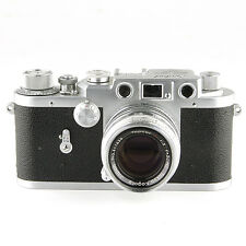 1950's Leotax F with Topcor-S 50mm 1:2 f=5cm 35mm Rangefinder Film Camera