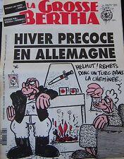 LA GROSSE BERTHA N° 37 de OCTOBRE 1991 CHARB PERONI HIVER PRECOSE EN ALLEMAGNE