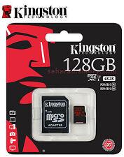 Kingston 128GB microSDHC/SDXC UHS-I U3 SDCA3/128G Memory Card for 4K VideoCamera