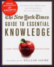 The New York Times Guide to Essential Knowledge, Second Edition: A Desk Referen