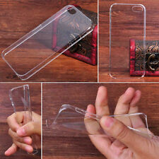 For Apple iPhone 5 5G 5S Thin Transparent Clear Back Hard Case Cover Skin New