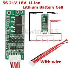 5S Lithium Battery 21V 18V Protection Board Li-ion Lithium Battery Cell