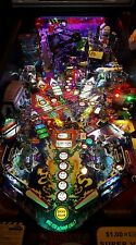 Lord of the rings/Ghostbusters/Scared Stiff Pinball trough light