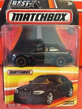 2016 BEST of MATCHBOX BMW 1M 2 Door Coupe Real Rubber Tires NIP 1:64 Die Cast