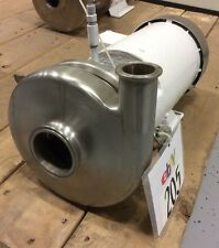 "TRI-CLOVER STAINLESS STEEL CENTRIFUGAL PUMP 2-1/2""inlet X 1-1/2"" outlet, 1.5HP"