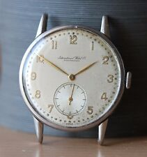 IWC Wristwatch, Vintage, Watch, Caliber 83, 1940's