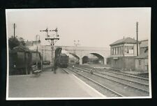Devon Plymout RAILWAY Friary Station locos 34069 & 34081 1958 photograph