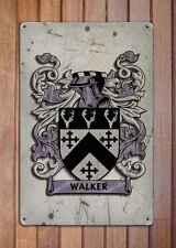Strickland Coat of Arms A4 Aged Retro 10x8 Metal Sign Aluminium Heraldry