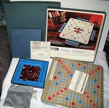 Vintage 1972 Scrabble Deluxe Edition Selchow Righter Turntable 100% Complete