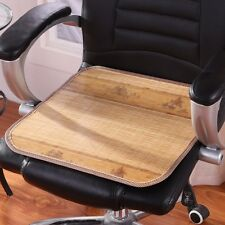 1PCS Summer Cool Natural Bamboo Mat Seat Cover Cushion For Home Office Chair