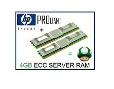 4GB (2x2GB) ECC FB-DIMM Memory Ram Upgrade HP Proliant BL460c G1/G5 Servers