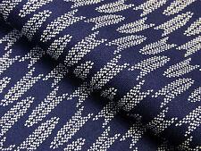 Japanese Fabric_Cotton_Navy,Yagasuri_Half Yard,#m005