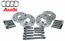 Audi Hub Centric Wheel Spacers Kit (2) 12mm & (2) 15mm Fits: A4 & S4 2009-2014